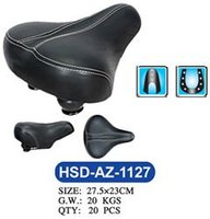 Comfortable and durable electric bicycle saddle