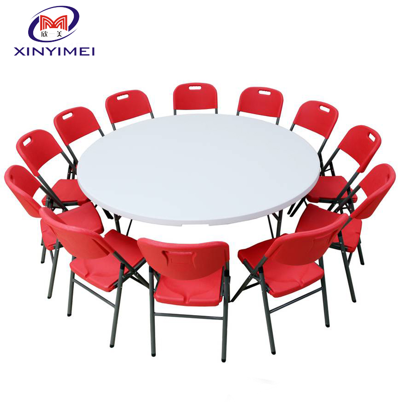 china supplier plastic <strong>table</strong> and chair for event