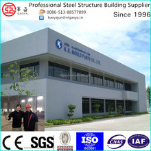 construction high quality prefabricated steel structure two storey office building