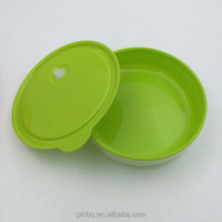 Double Wall Microwavable Plastic Food Container With Lids