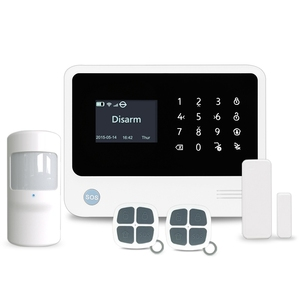 IOS/Andriod APP touchscreen control wireless WiFi GSM GPRS alarm system