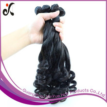 Wholesale Remy Human Hair Extension Aunty Fumi Hair 100g Natural Black Funmi Hair Extension