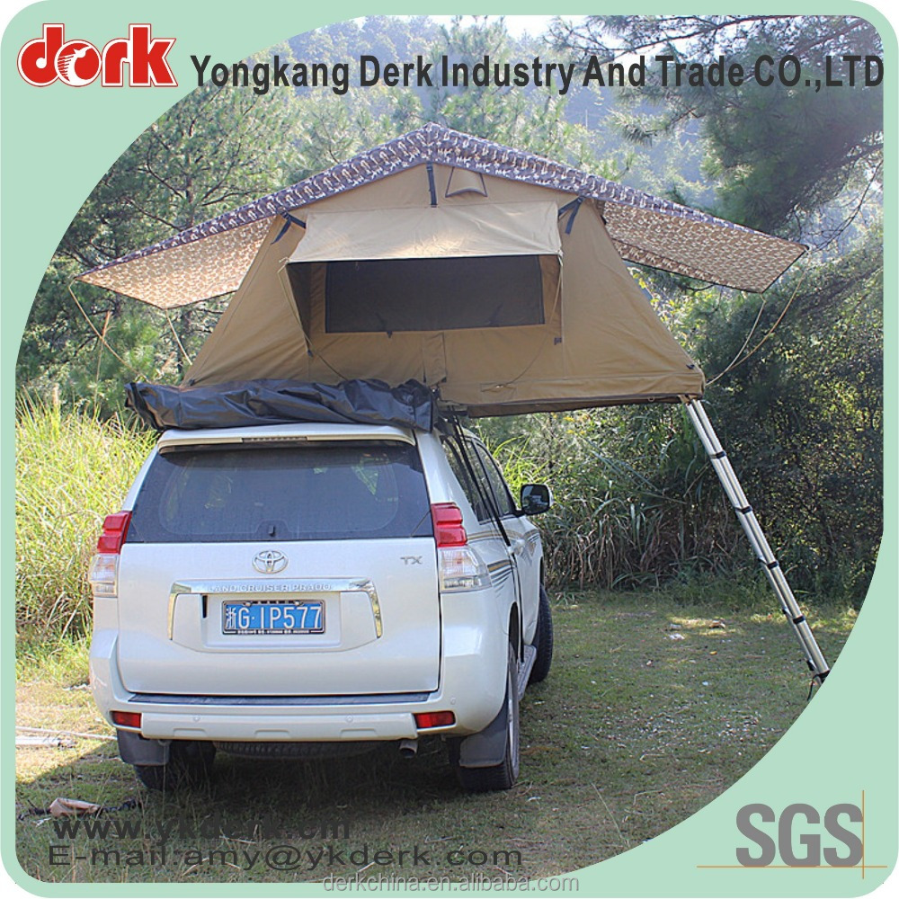 plastic 3-4 person camper trailer tent