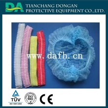 Disposable surgical cap pattern clip cap mob cap for hospital