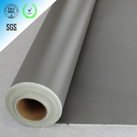 Good performance J&T thermal insulation silicone rubber coated fiberglass fabric