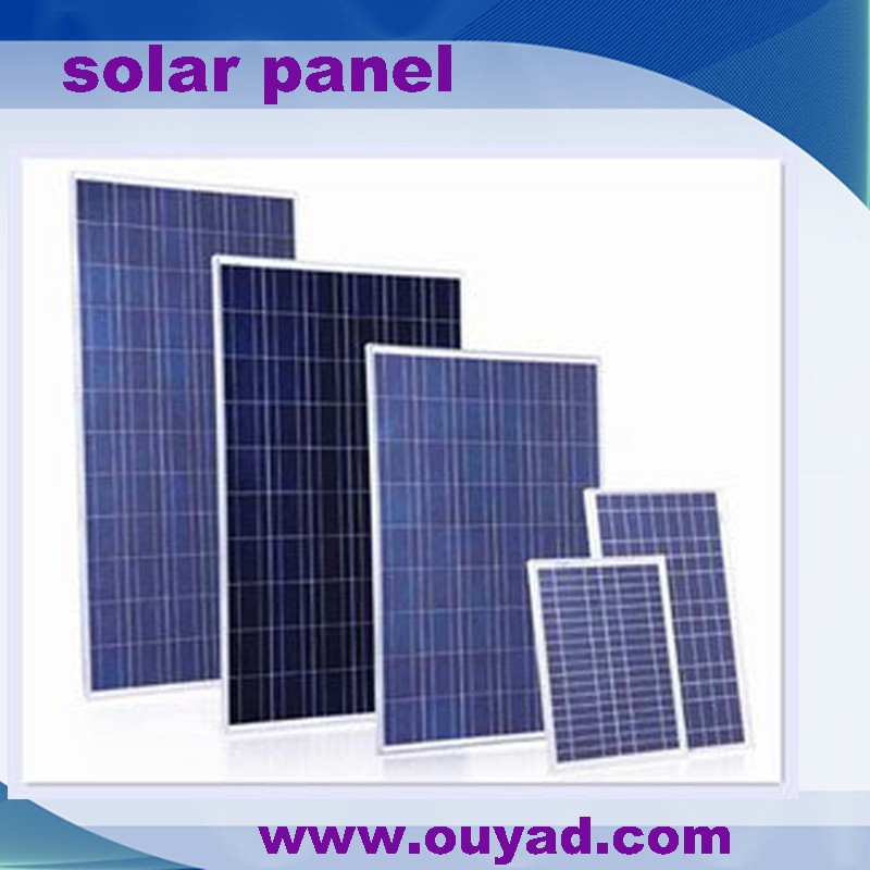High efficiency high quality competitive price per watt solar panel poly 100W