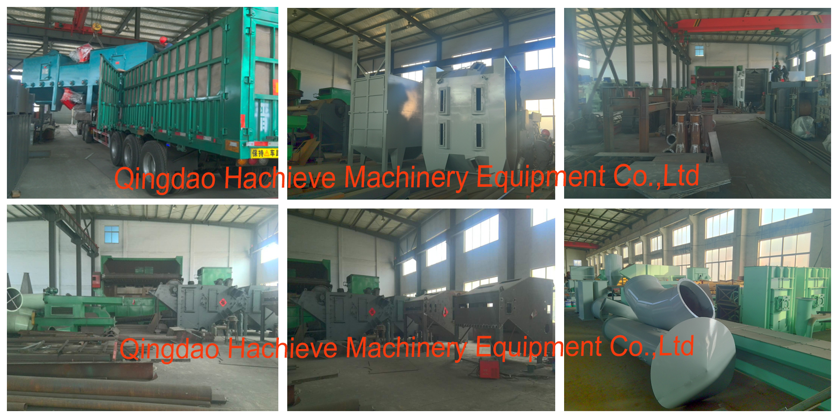 Steel Coil Shot Blasting Machine