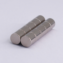 N35 D10X10mm cylindrical industrial ndfeb magnets