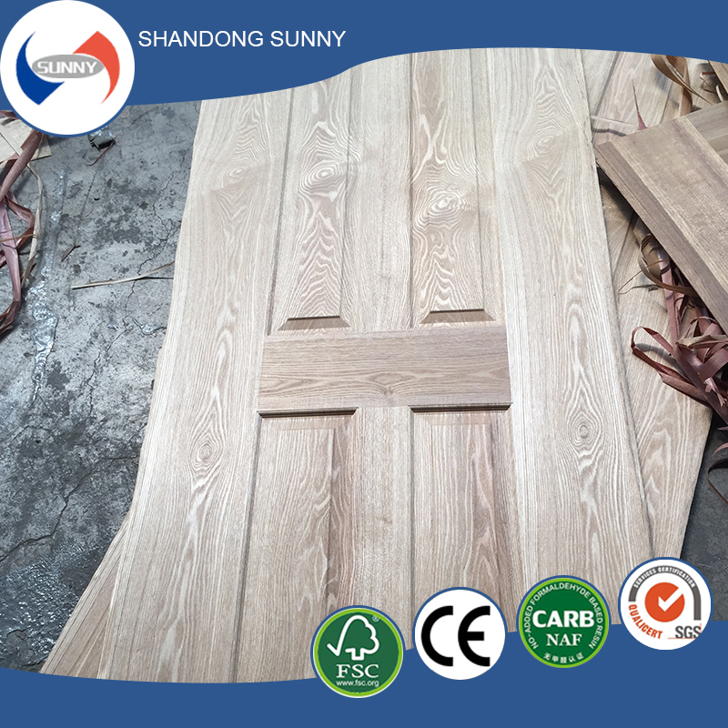 2.5mm thickness hdf wood veneer door skin