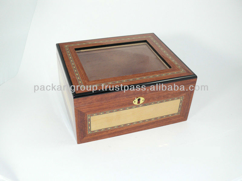 Packart Wooden Cigar Box