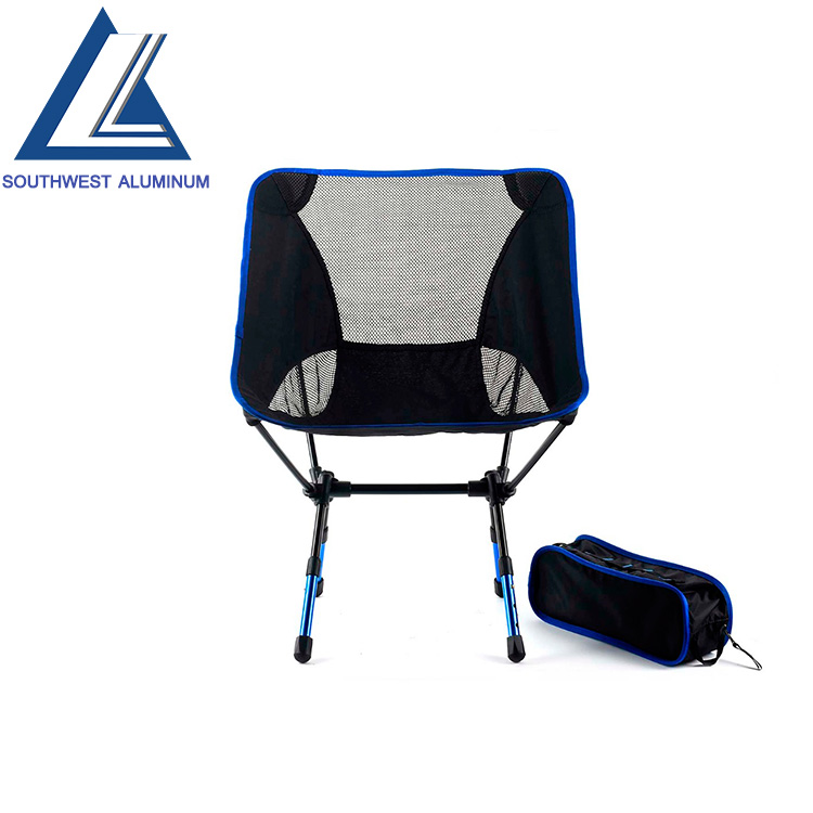 Outdoor aluminum camping folding chair