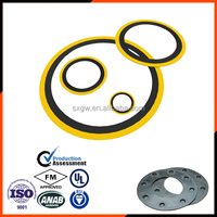 GOST OEM China supply stainless steel Reinforced Graphite spiral wound gasket