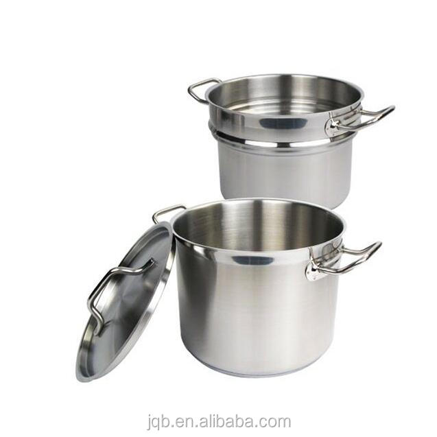 Commercial Grade Stainless Steel Steamer and Pasta Cooker With Cover