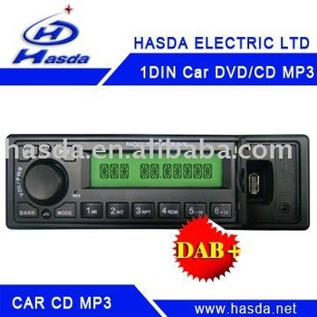 Car radio with MP3 player