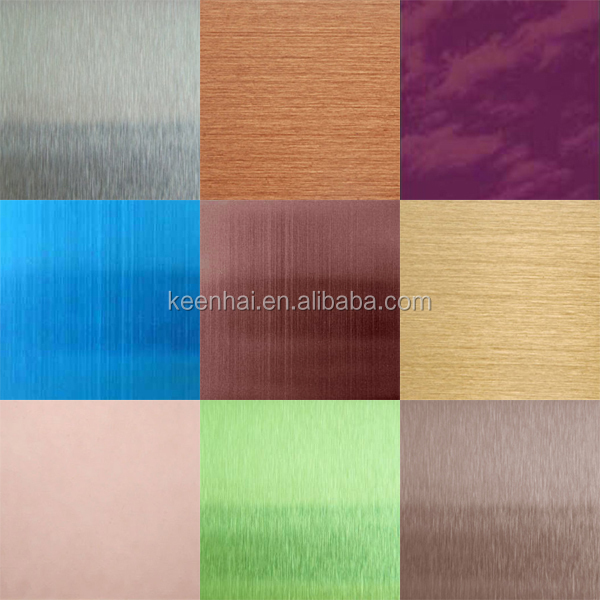 1 0mm Stainless Steel 4x8 Colored Decorative Metal Sheets