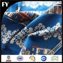 Factory hi end digital print 100% cotton woven fabrics