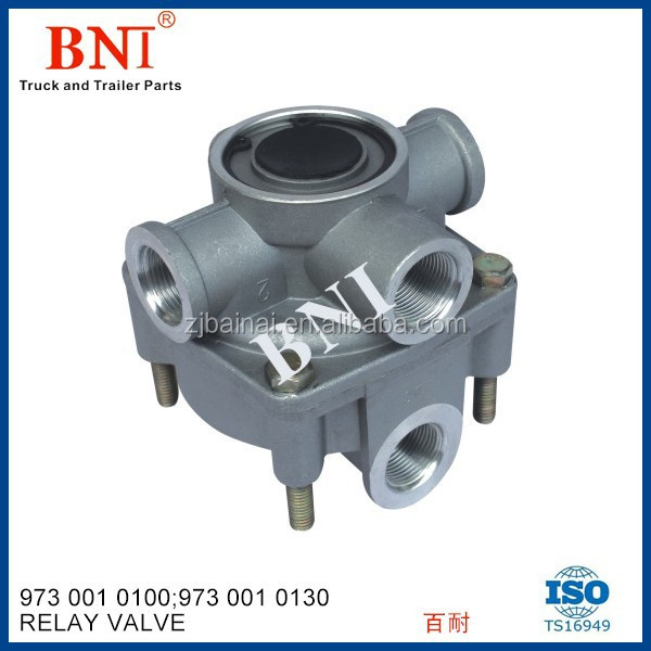 Air Brake Valve Iveco& Renault Relay Valve9730010100 9730010130