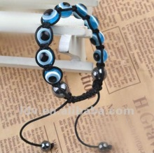 designer inspired jewelry bracelet evil eye