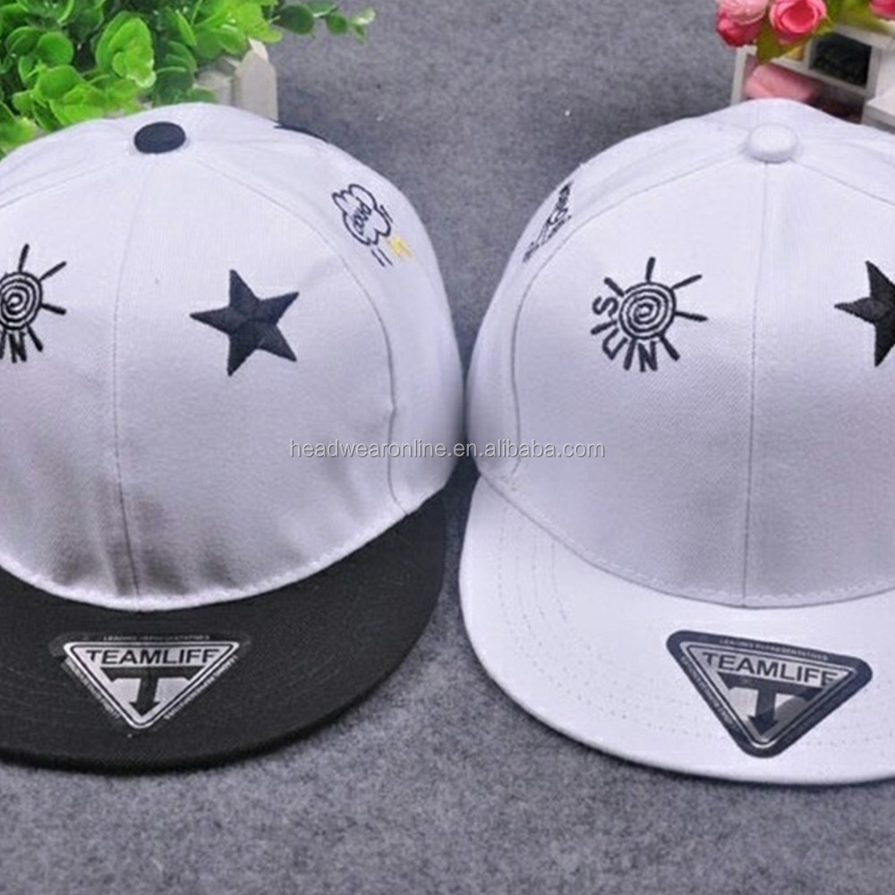 Fashion beautiful head cap embroidered men and women general street party casual hat