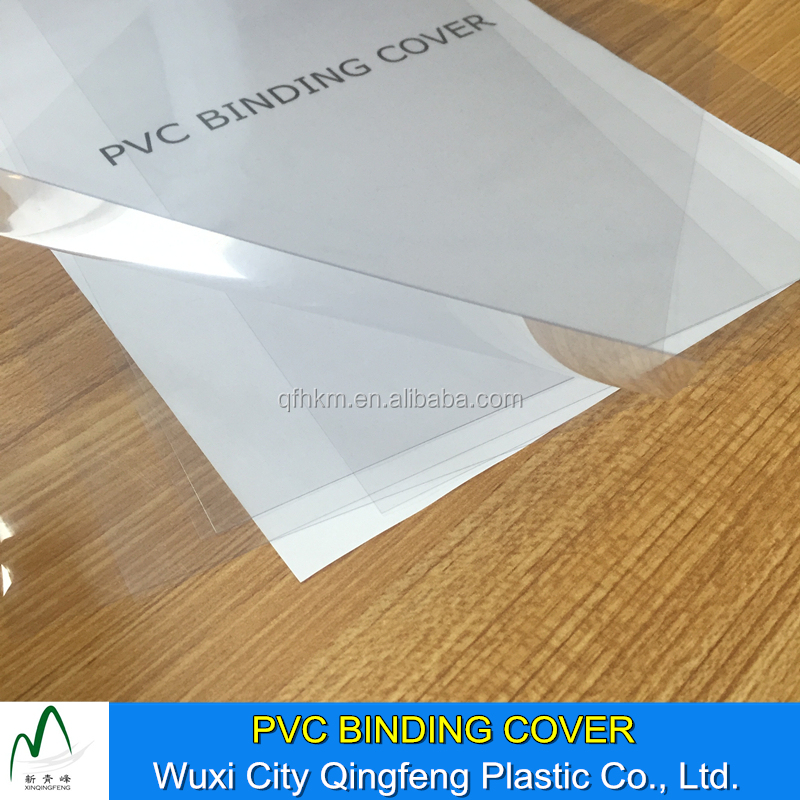 Transparent Binding Covers A3 A4 Thermal Book Binding Sheets