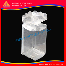high quality plastic folding cheap empty gift boxes/rubber toy