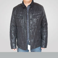 2015 quilting man's jacket winter