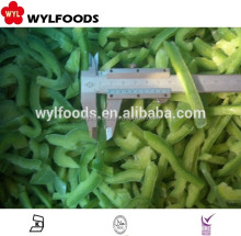 Reliabe pricc IQF frozen green pepper