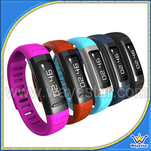 OEM Fitness Wristband Activity Tracker Lifestyle Sleep Monitor Low Energy Bluetooth 4.0 Pedometer Sleep Tracker