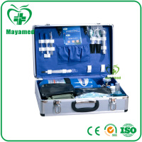 MY-K004 large capatity easy carry portable medical Surgery first aid kit box used in emergency with cheap price