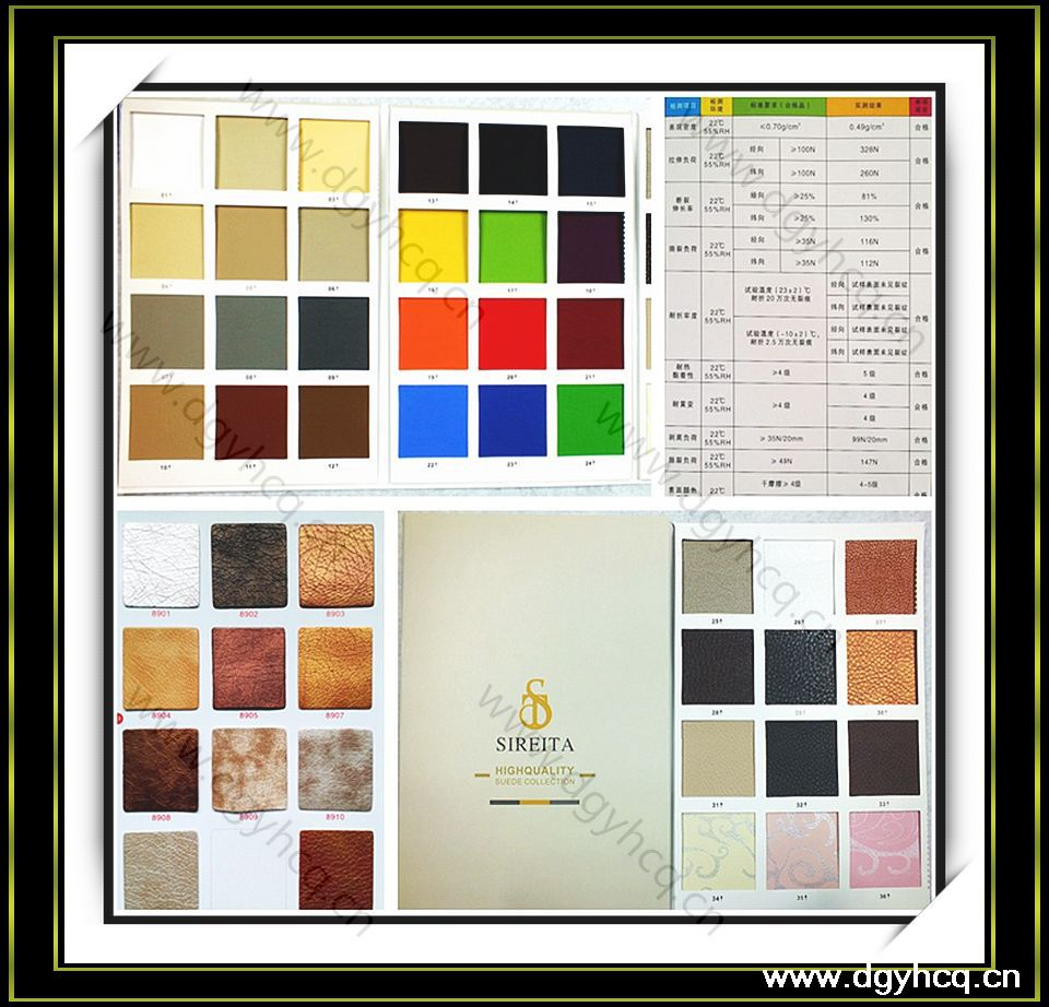 microfiber leather color card&soft roll microfiber&furniture microfiber leather for furniture /car seat cover