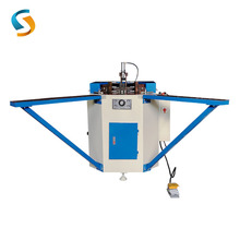 LZJ-120A Low Moq hydraulic heavy duty aluminum windows corner crimping combining machine machineries