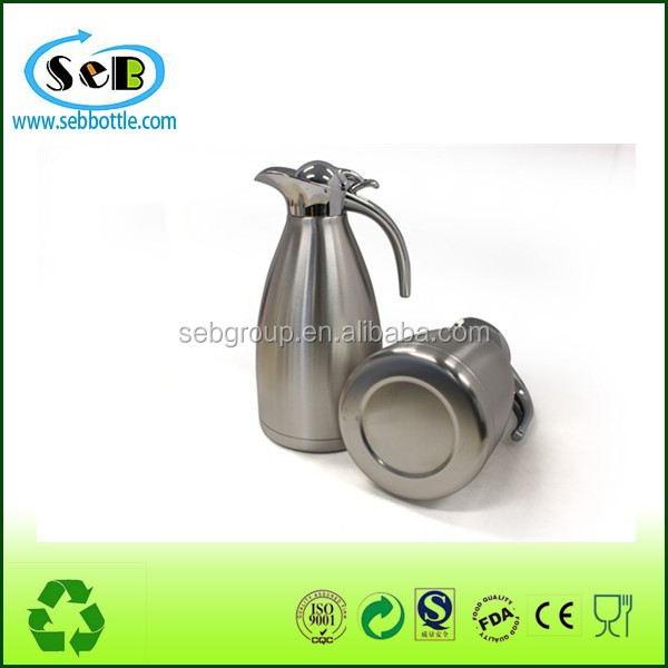 1L Wholesale Drinkware Stainless Steel Coffee Pot food grade