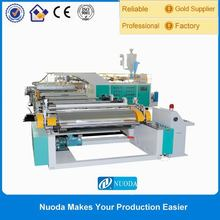 High capacity plastic film embossing machine