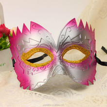 Paint PVC Mask Costume Party Half Face Masks