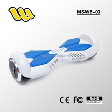 2015 most fashionable 6.5inch tire two wheel smart drifting electric balance Scooter