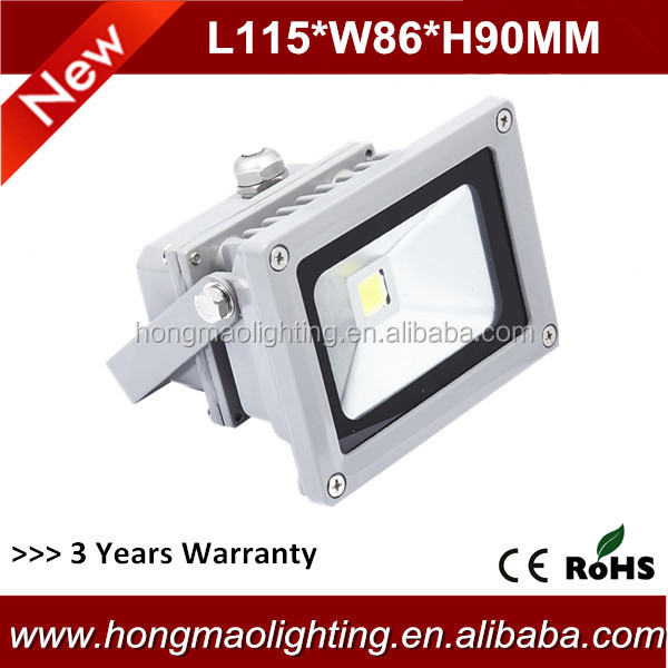 Anti-Rust outdoor led ip65 10w flood light