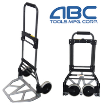 New design foldable aluminum warehouse use hand trolley cart prices