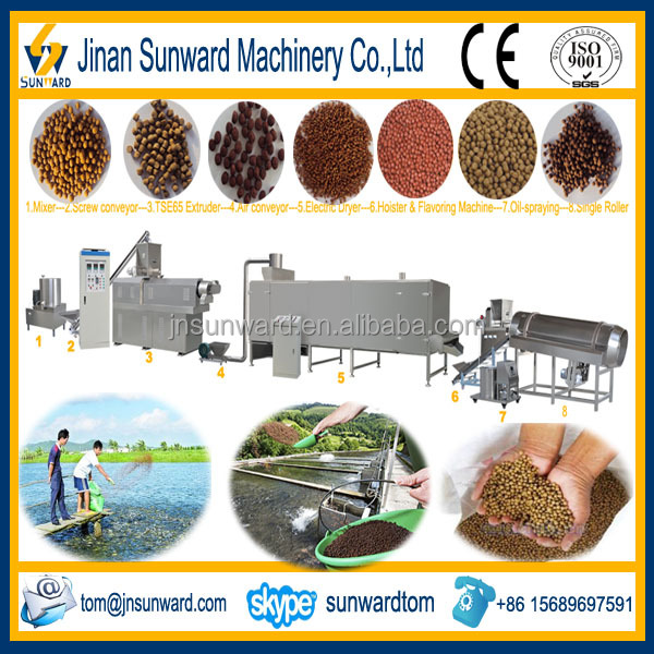 Floating Fish Food Pellets Production Line