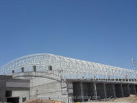 Steel Space Frame Roofing System