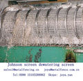Screen cylinder Johnson screen food processing dewatering screen