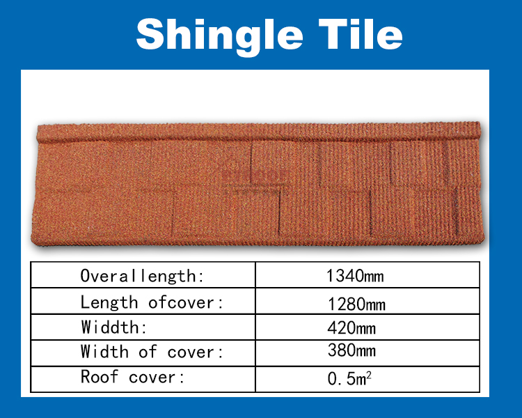 metal roof tile-heritage tile