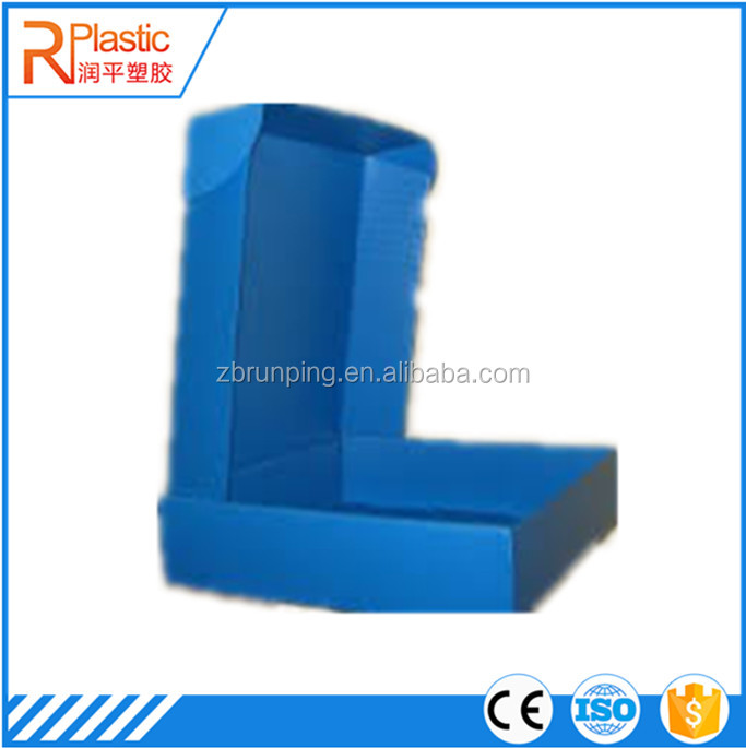 Corrugated Plastic Display Stand Box for Mobile Accessories