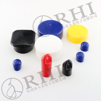 ROHS REACH Colorful different Dia. pvc fittings for tube,plastic pipe fitting end cap 64mm galvanized pipe end cap 2.52'' inch