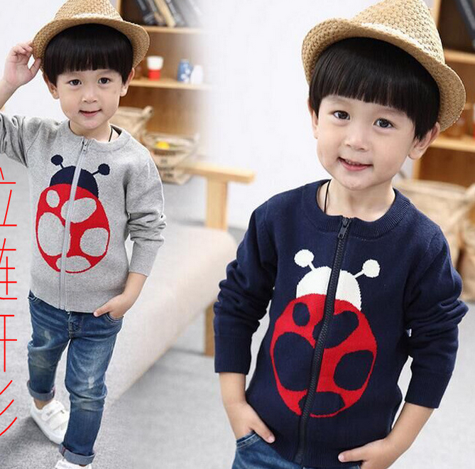 2016 New Design Softextile 100% Cashmere Kid Zip Sweater For Boys