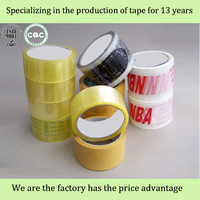 colours bopp tape and transparent adhesive tape