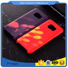 Thermal sensor discoloration case,Heat induction color changing,Magical fluorescent for samsung galaxy s8 case