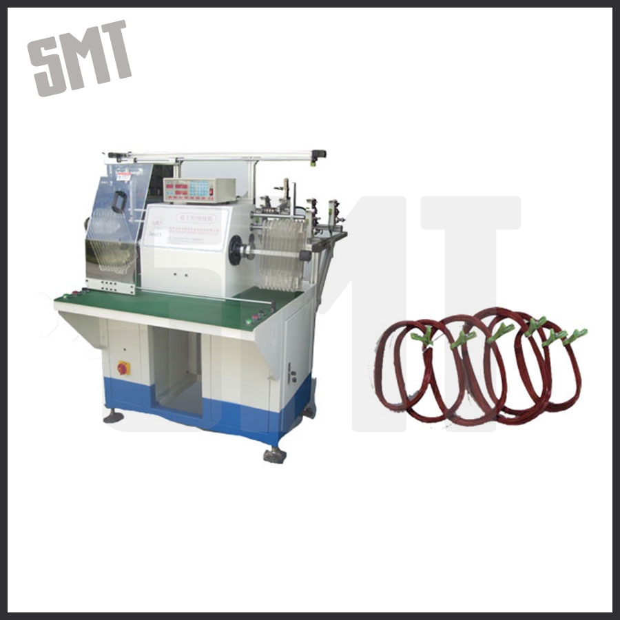 Table Fan Motor Stator Winding Machine / Coiling Electric Wires Simultaneously