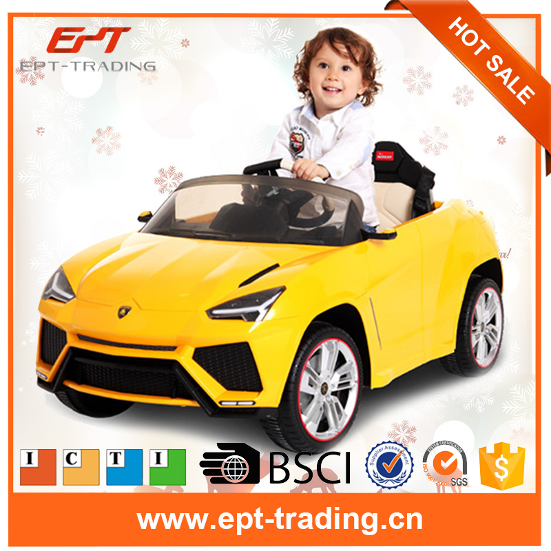 Brand new kids licensed plastic car ride on car toy for sale