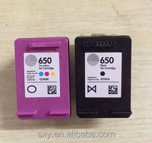 Remanufactured Ink Cartridge wholesale For HP 650 CZ102AE black and Color