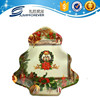 Christmas tree shape kids plastic food tray